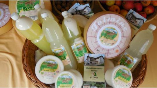 Organic mountain farm in Slovenia: the owners are BIODAR producers