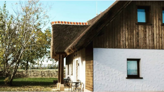 The Pannonian Village in Slovenia: all cottages are buit with ecological materials