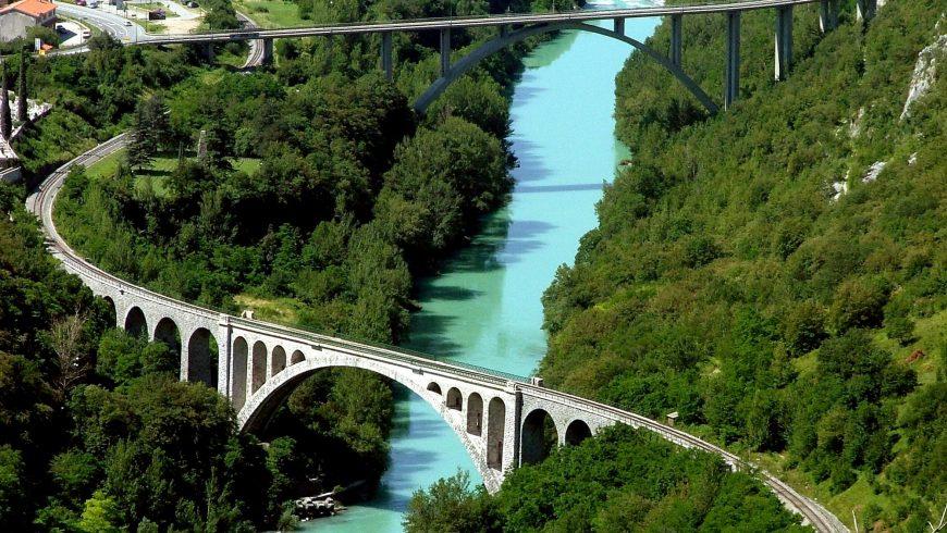 Solkan bridges