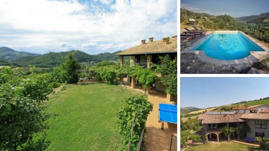 Farmhouse Valtidone Verde surrounded by Nature