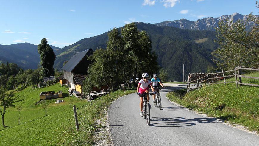koroska bike trail karavanke