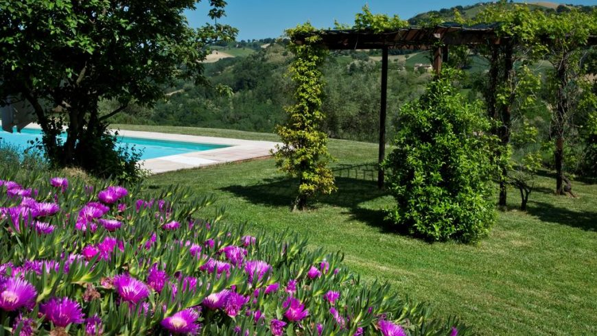 casal dei fichi giardino piscina