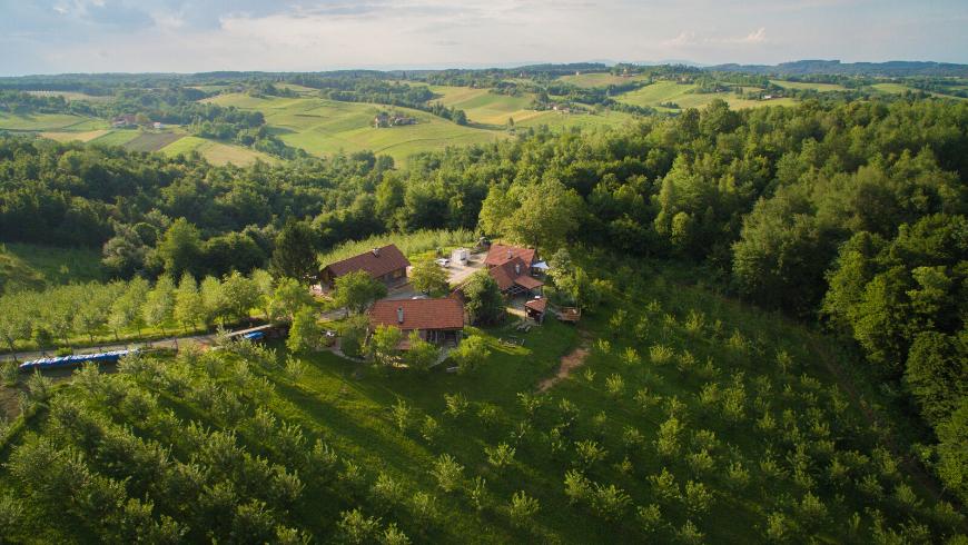 Ekodrom idyllic eco-cottage