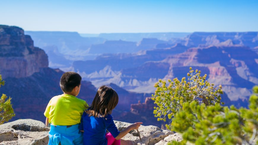 eco-traveling with kids