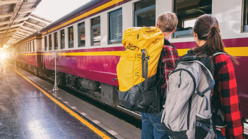 travel by train is more sustainable