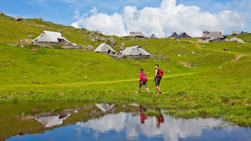 velika planina - Kamnik Savinja Alps
