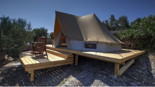 Gastro Glamping Resort Fešta is the best place where to experience eco-glamping in Croatia