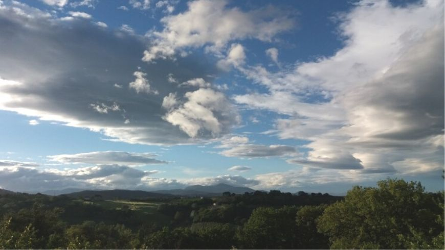 Countryside landscape of Terni