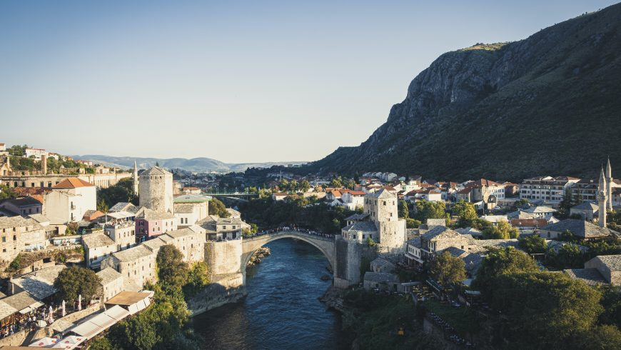 Mostar, Bosnia & Herzegovina, one of less known and Unpopular Travel Destinations in Europe