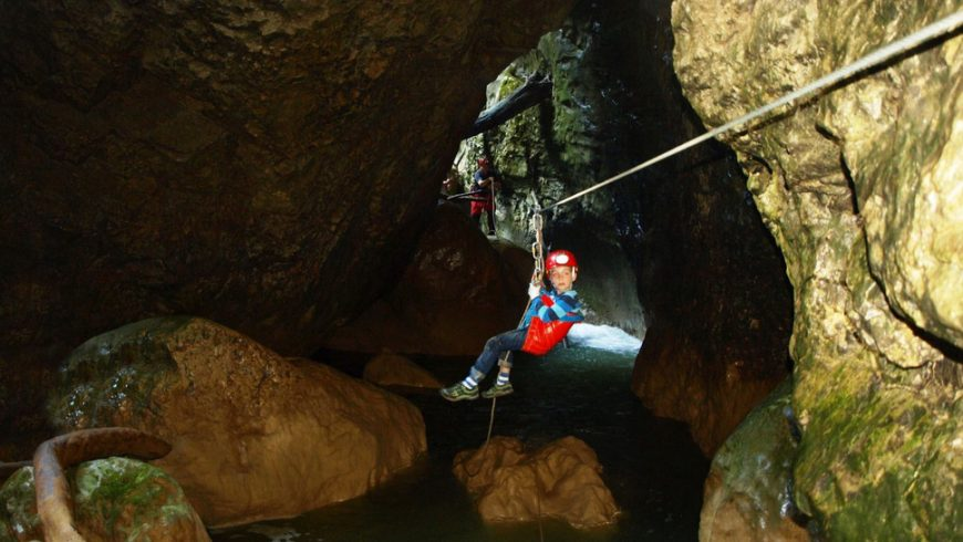 eco-friendly experiences in Istria: Caving adventure