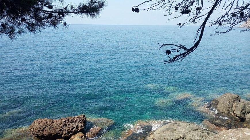 Sea view in Framura, Liguria