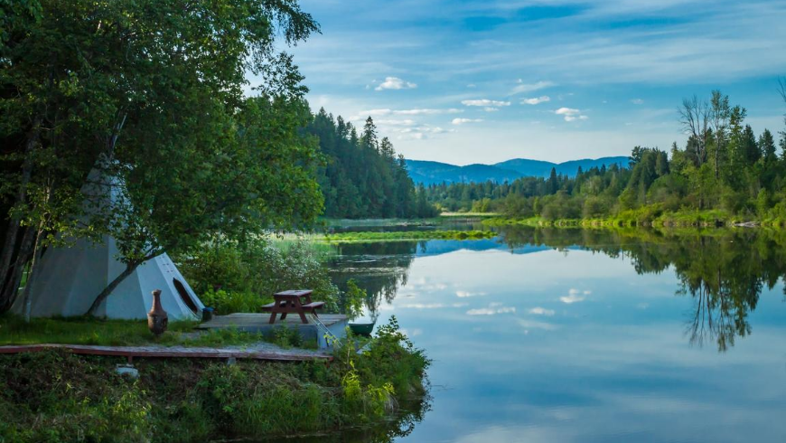 Live your eco-glamping experience in the middle of nature