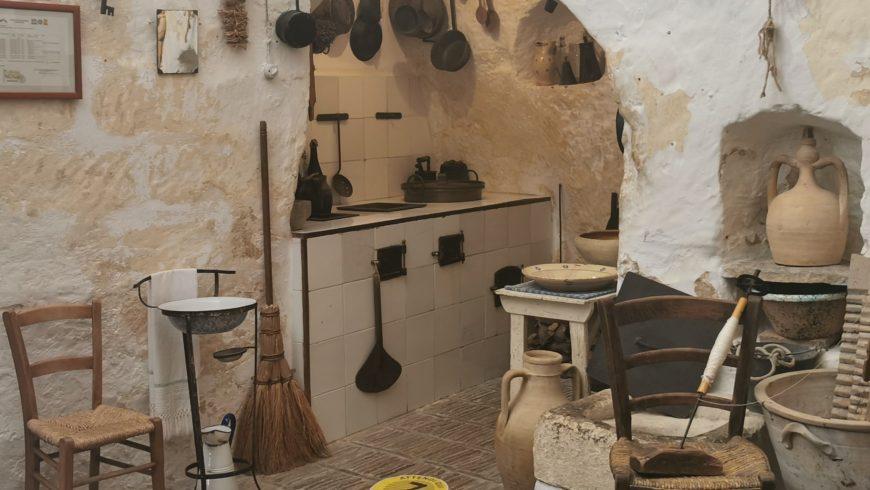Sassi di Matera houses