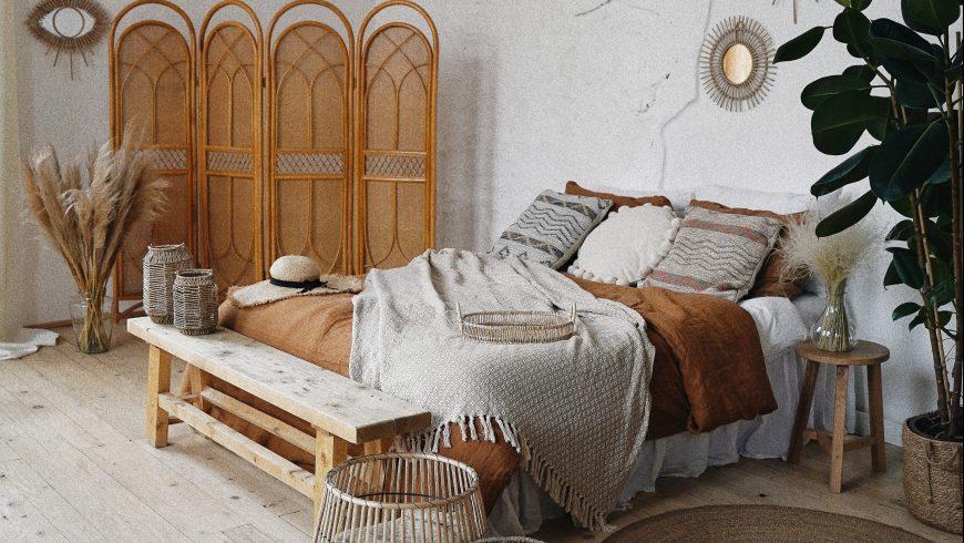 bedroom natural materials