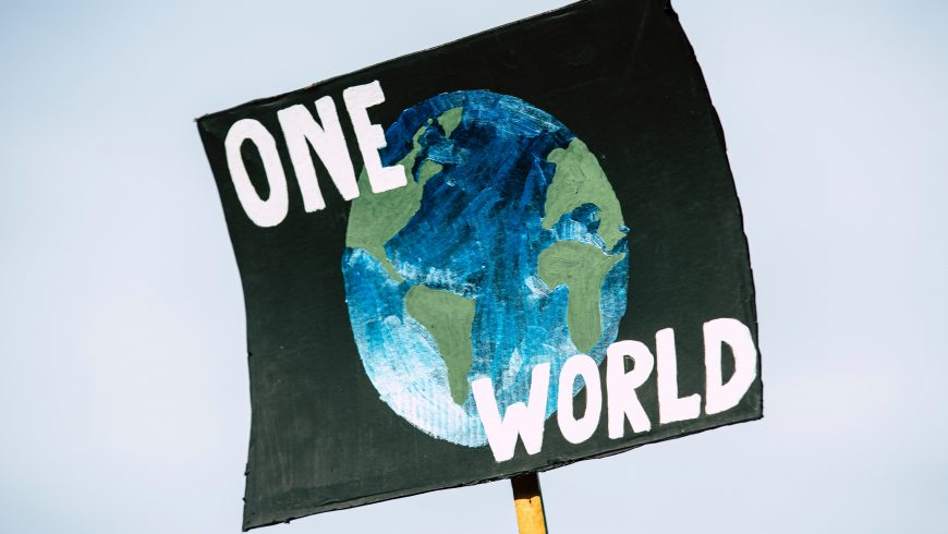 climate change one world