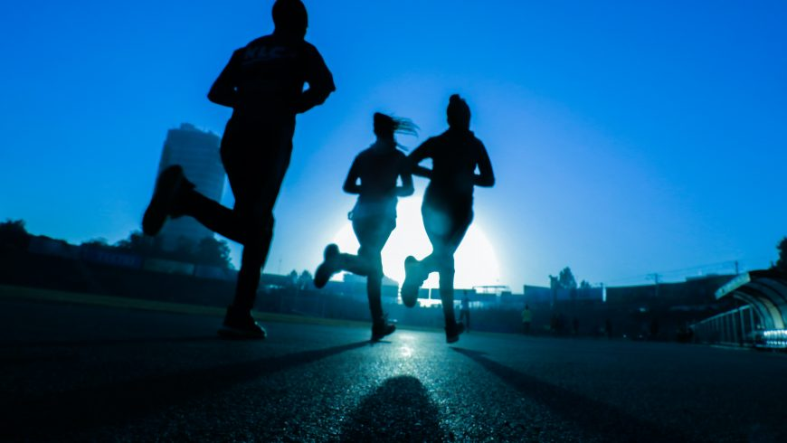 jogging, a way to stay fit during your vacations