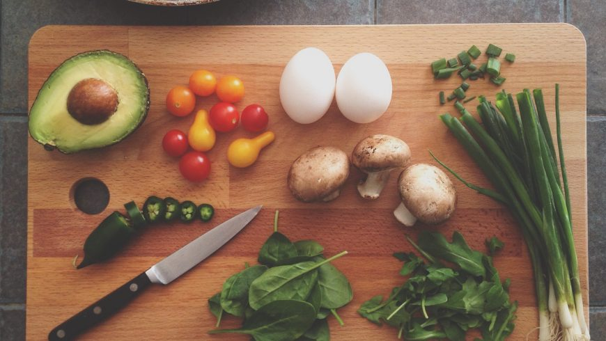 Include more vegetable and less meat in your sustainable menu