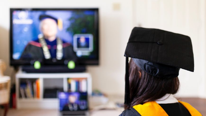 Online graduation in USA