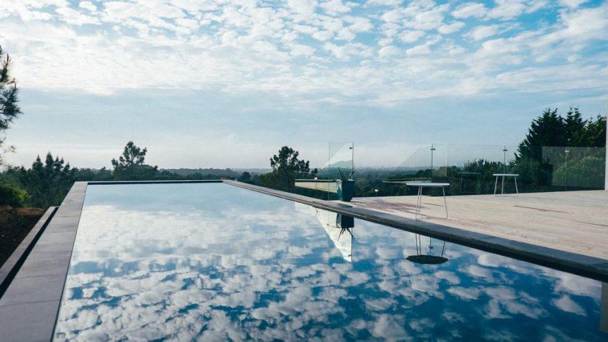 villa epicurea pool