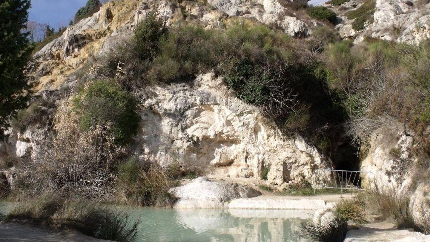 Thermal baths of Bagno Vagnoni