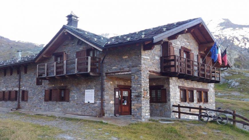 Mountain refuge near Cogne