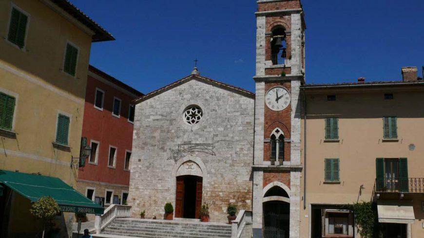 Church of Sas Francesco in San Quirico d'Orcia