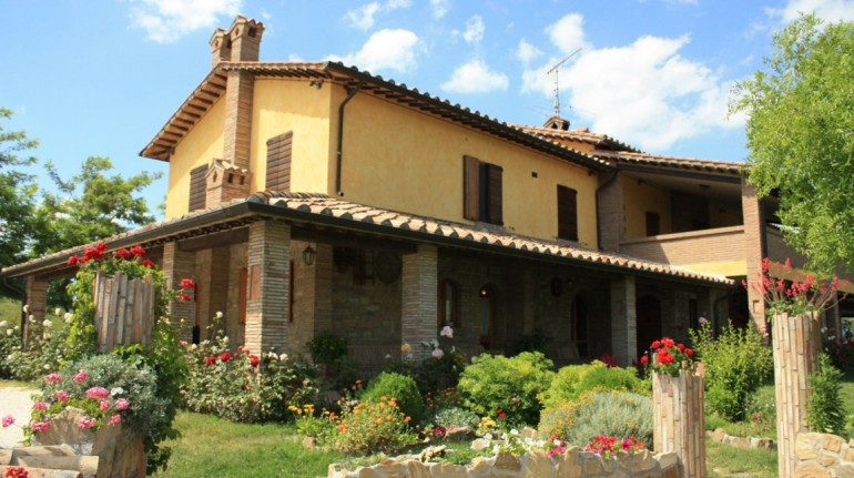 Villa Dama, with organic and natural products