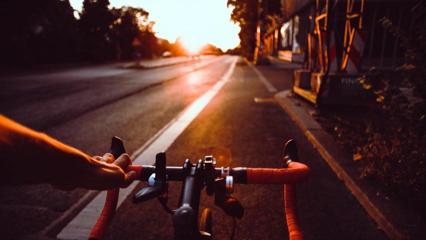 traveler by bike
