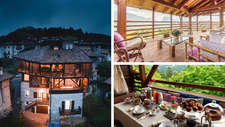 A charming suite in the Adamello Brenta Natural Park