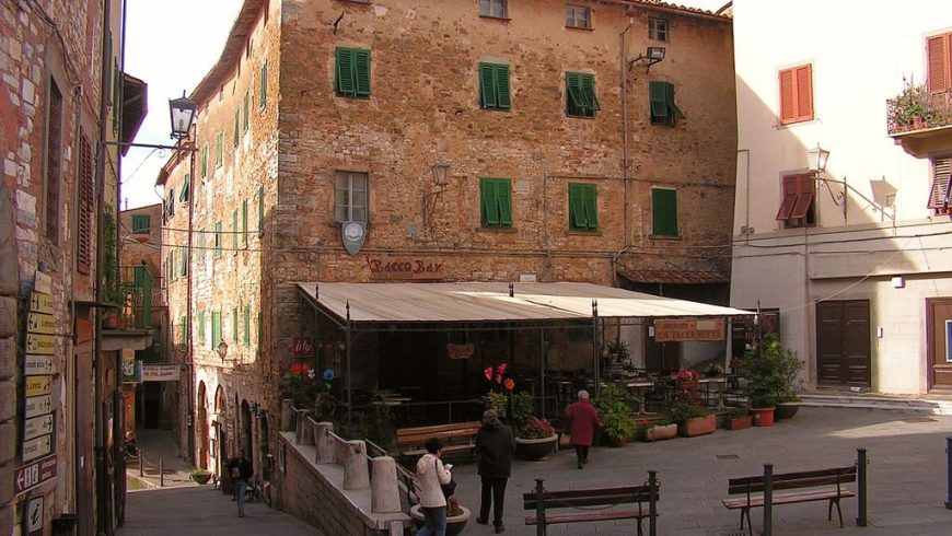 Campiglia Marittima, village in Tuscany