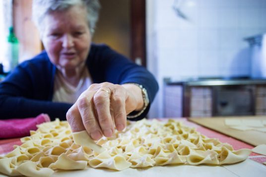 Gradin traditional gastronomy