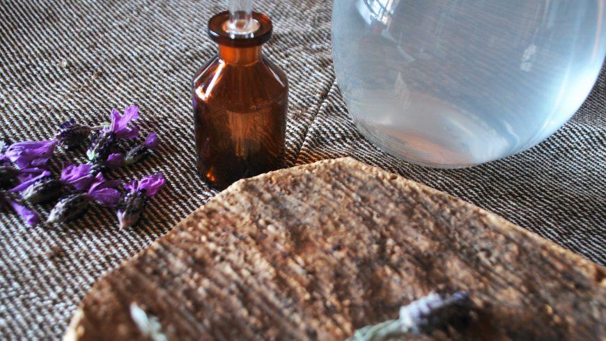 Essential oil of lavender at Essenza Sardegna