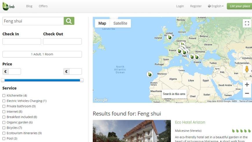 Feng shui on Ecobnb
