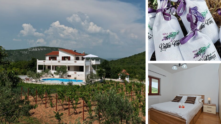 Villa Vinea, one of the best rural retreats Croatia