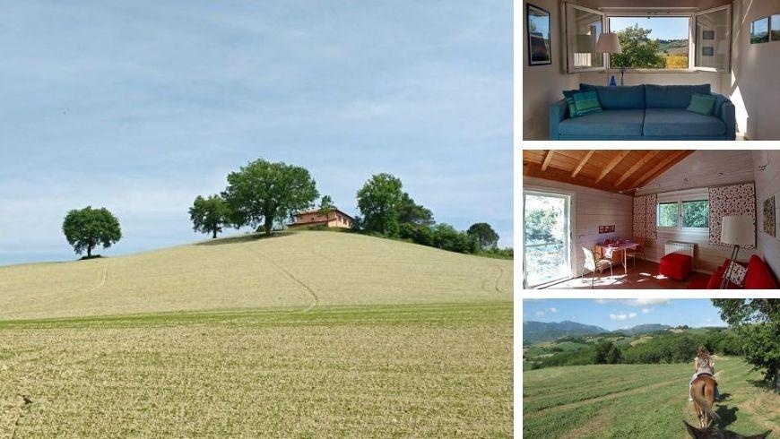 Eco-friendly farmhouse with a view to Urbino