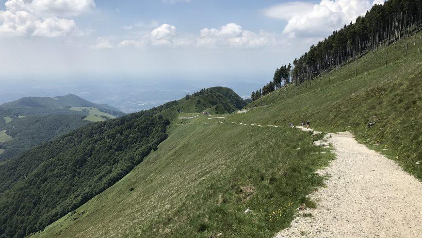 Path on the Mount Generoso