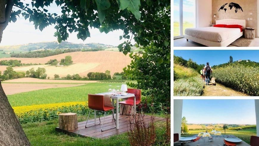 Return to Nature in the hills of Macerata
