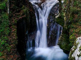 Waterfalls in Soca Valley