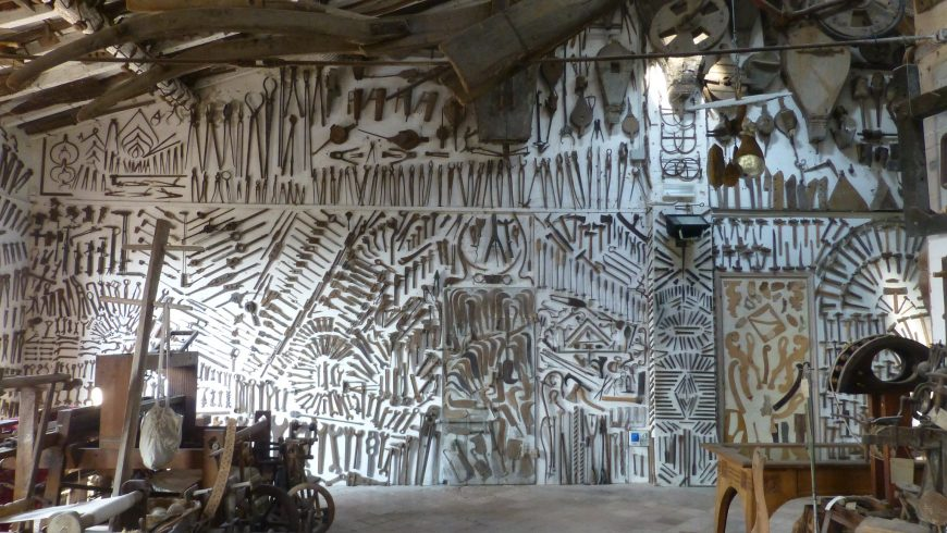 Ettore Guatelli Museum like a temple