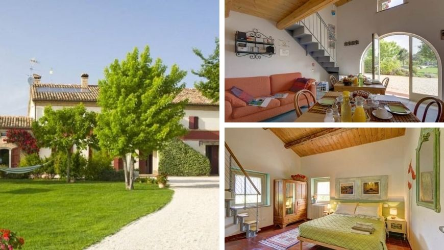 eco-friendly B&B in the Osimo countryside, Marche