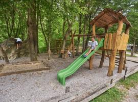 Glamping in Slovenia: playground