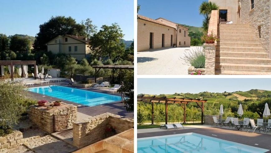 Marche, Eco-hotel in the countryside