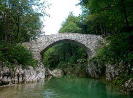 Bridge on Nadiza river