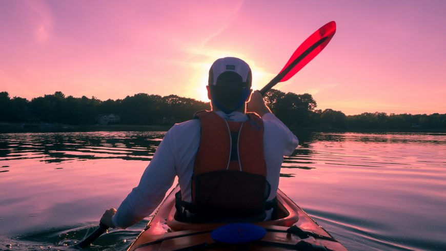 small tour in kayak
