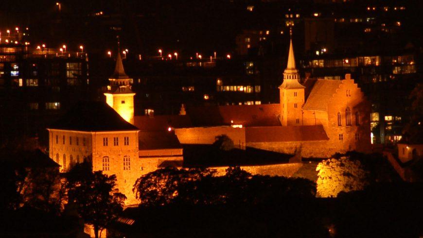 Akershus Festning, one of the top haunted castles in Norway, Europe