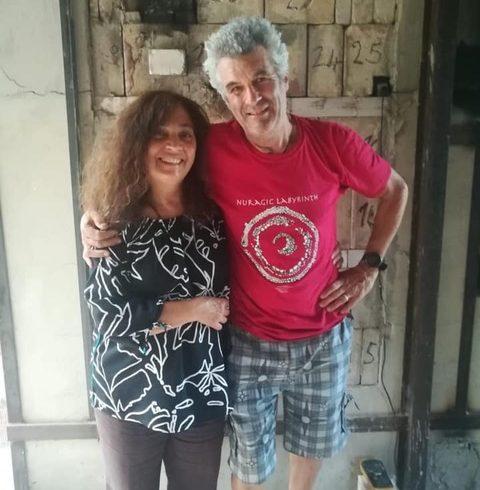Angela Dardani and Robert Cross