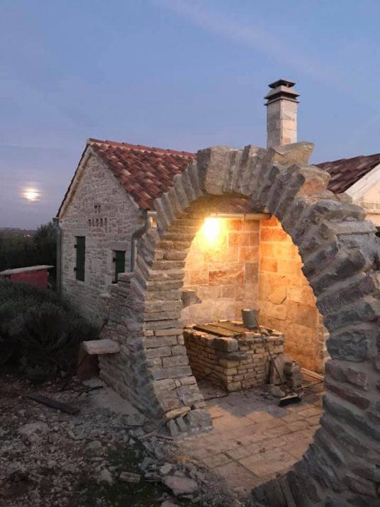 Digital detox holidays in croatia-stone house