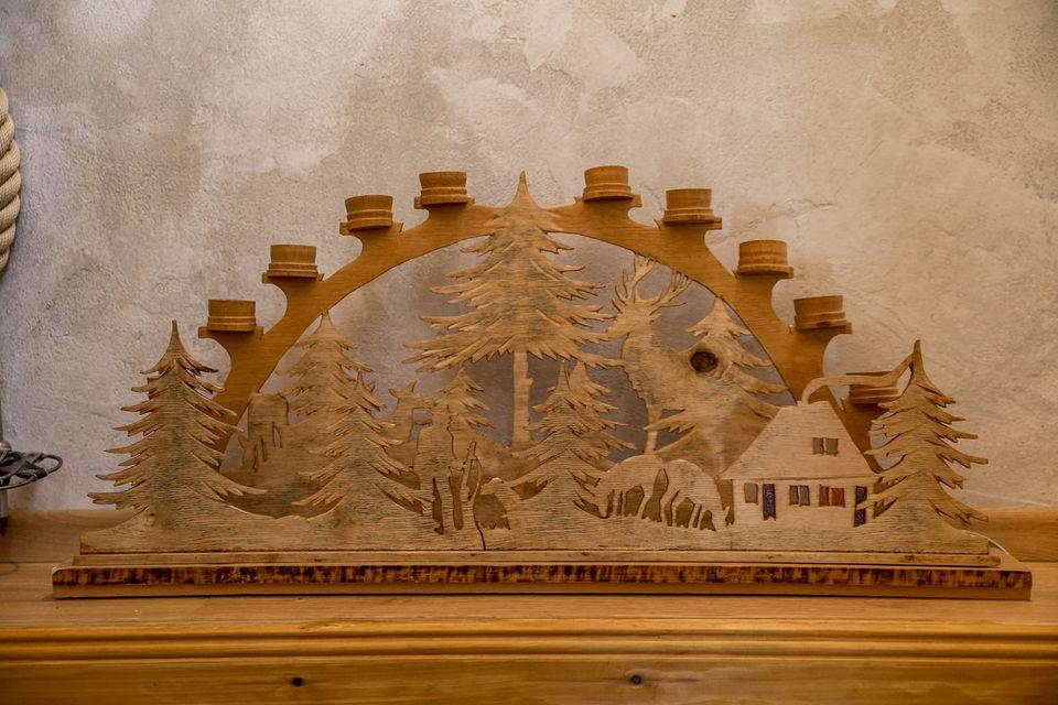 Handmade wooden detail