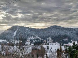 Landscape in Gorski Kotar region
