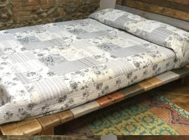 recover wood bed